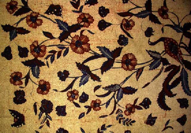 ... batik banyumasan warna khas batik banyumasan yaitu coklat gelap batik